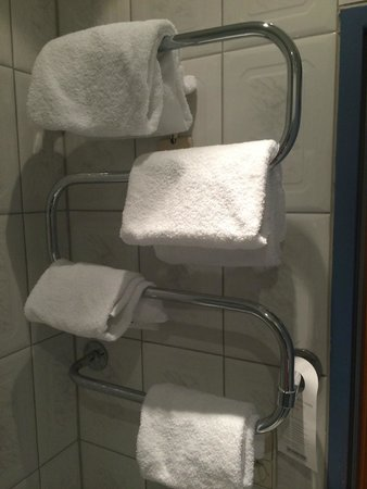 Hotel Nestroy: Towels