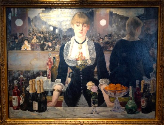 """The Courtauld Gallery: Manet: """"A Bar of the Folies-Gergere"""