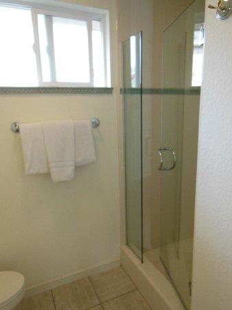Saratoga Oaks Lodge : Clean bathroom.