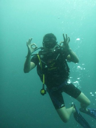 Super Divers : Dave under water