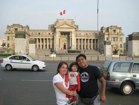 Centro histórico de Lima: palacio de justicia lima