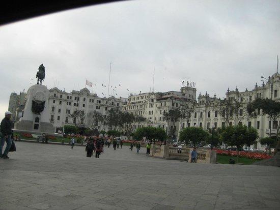 Centro histórico de Lima: plaza san martin