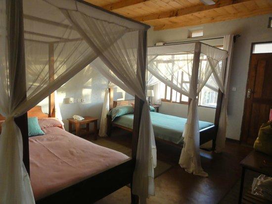 Tloma Mountain Lodge, Tanganyika Wilderness Camps: The room
