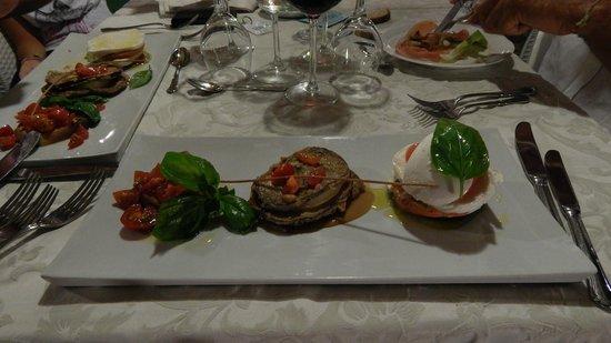 Hotel Montecallini: Antipasto