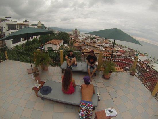 Hostal Vallarta Suites: TERRAZA