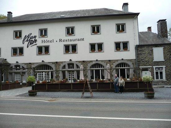 Hotel L'Eau Vive: entrée