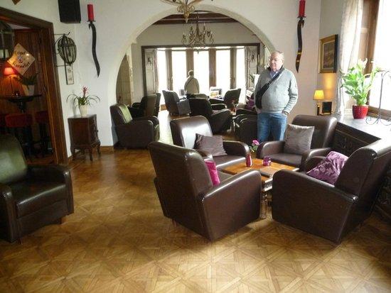 Hotel L'Eau Vive: salle de détende