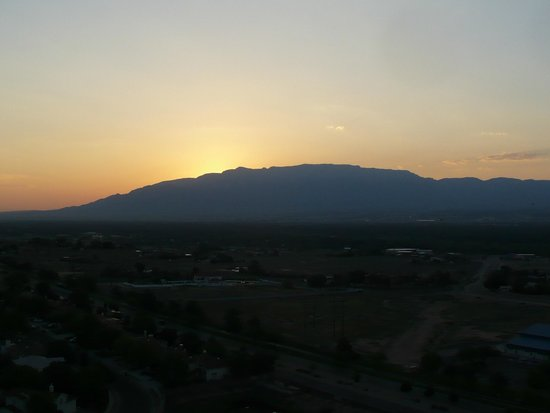 Sunrise over the sandia mountains picture of private balloon private balloon flights sunrise over the sandia mountains sciox Choice Image