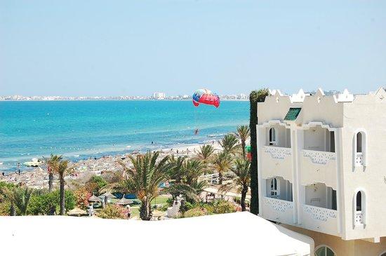 El Mouradi Mahdia: Вид из лучшего номера отеля, утро