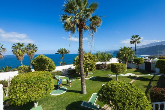 Interpalace by Blue Sea: Garden view across to sea