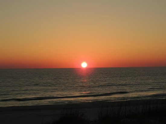 Cape San Blas: Sunset From the Deck