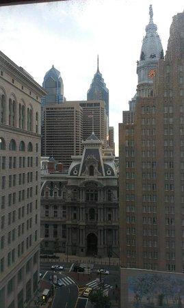 Philadelphia Marriott Downtown: Vue de la chambre
