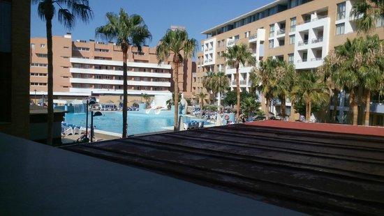 Hotel Neptuno: Pasillo de habitacion