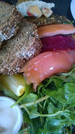 The Winding Stair : Smoked fish platter