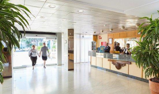 Blue Sea Interpalace : Reception area
