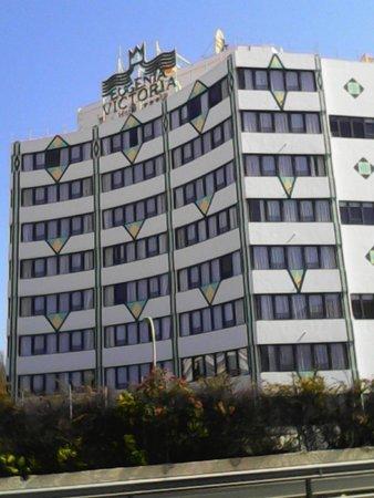 Hotel Eugenia Victoria: Fachada principal