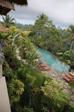 Puri Gangga Resort: View from Balcony of Garden Suite