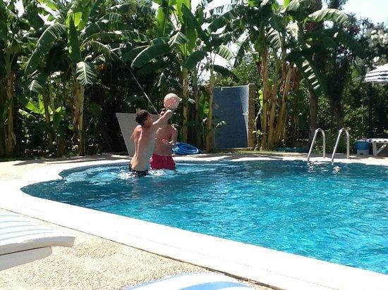 Sun Garden Apart Hotel : fun time in the pool