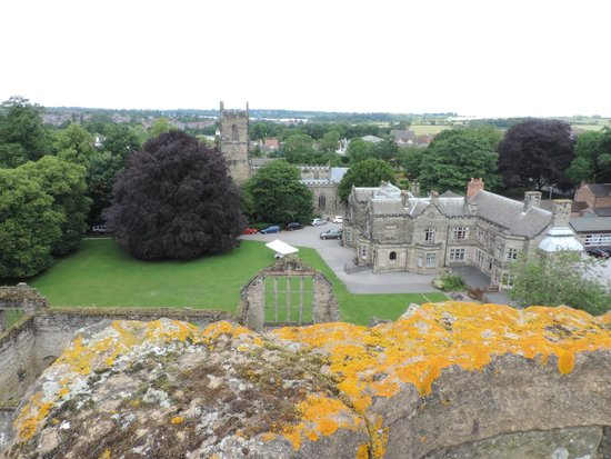 Ashby de la Zouch Castle: View from the Tower