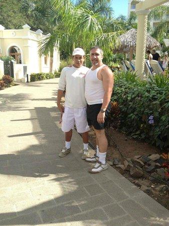 Hotel Riu Guanacaste: Erick Pool Manager