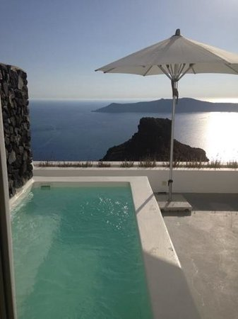 Grace Santorini Hotel: all rooms have a view