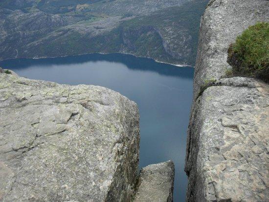 Pulpit Rock: Люсефьорд в каменной щели.