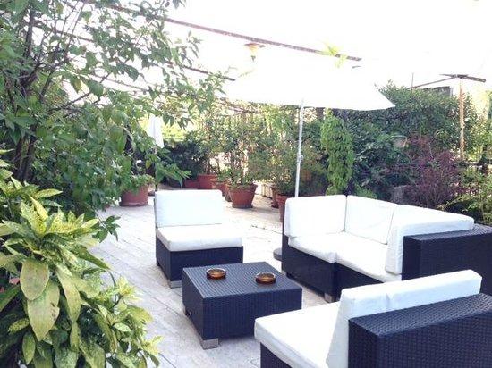 Hotel Al Cason: terrace