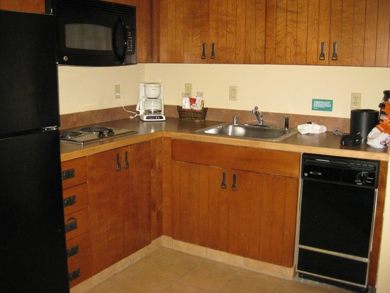 MCM Elegante Lodge & Suites: King Suite - kitchen