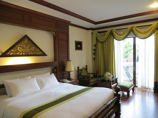 Borei Angkor Resort & Spa : Habitación King Size