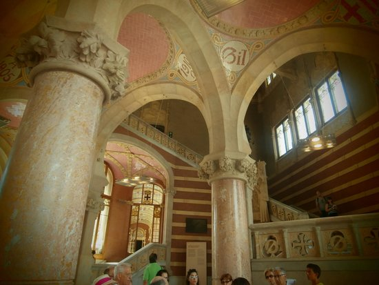 Sant Pau Recinte Modernista : The main hall
