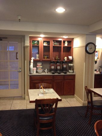 Comfort Inn Cordelia : Station café