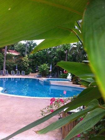 Fair House Beach Resort & Hotel : нижкий бассейн с джакузи
