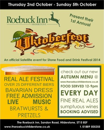The Roebuck Inn : Oktoberfest 2014