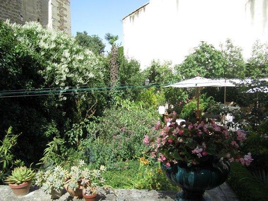 La Mirande Hotel : garden