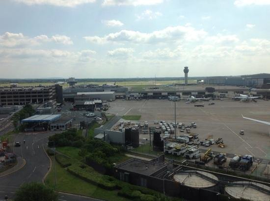 Radisson Blu Hotel, Manchester Airport: view from room