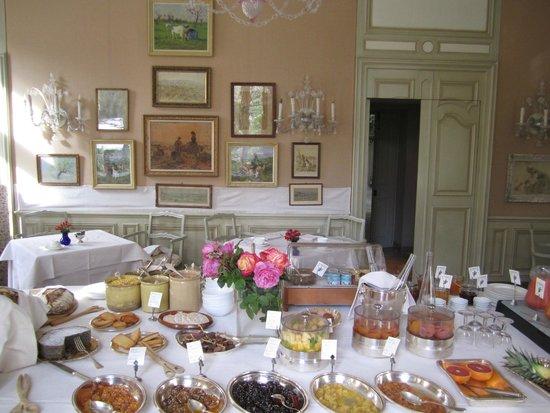 La Mirande Hotel : breakfast