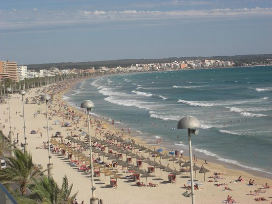 Hotel Playa : vue du 4e etage