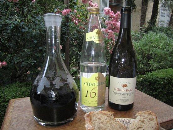 La Mirande Hotel: wine