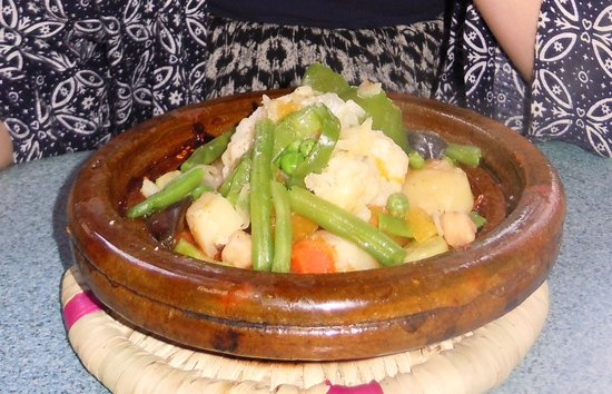 Shyadma's: Vegetable tagine!