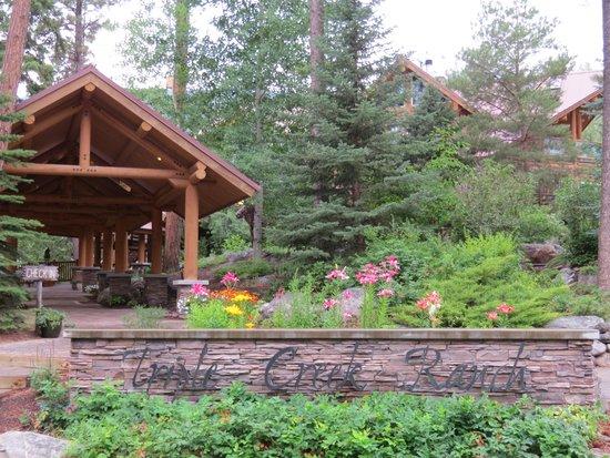 Triple Creek Ranch : Entrance