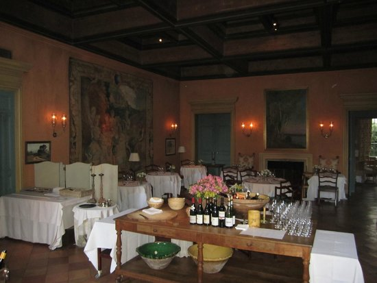 La Mirande Hotel: dinner