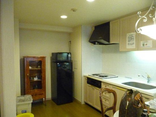 Hotel Village Izukogen : キッチン