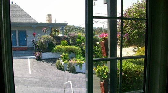 Comfort Inn Monterey Bay : Property was neat, clean with lush ornamental vegetation