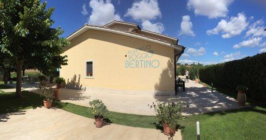 Hotel Poggio Bertino: Excellent weather