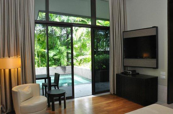 Capella Singapore: Private Pool