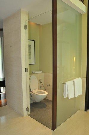 Capella Singapore: Toilet