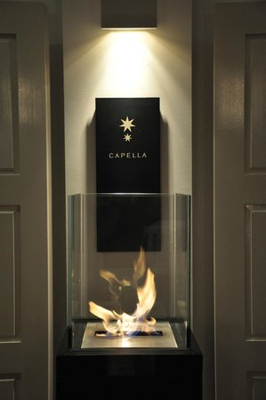 Capella Singapore: Fiery