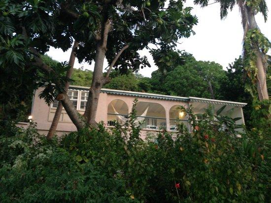 Sugar Mill Hotel : Deluxe Suite terrace