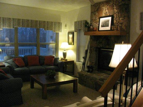 Seven Springs Mountain Resort: Living room