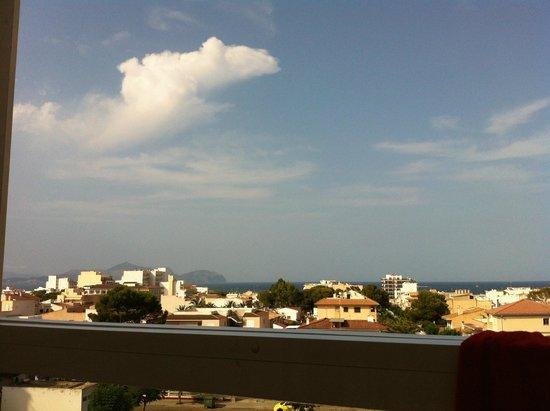 SuneoClub Haiti: View from balcony 329